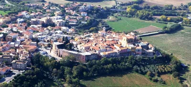 montalto centro storico panorama