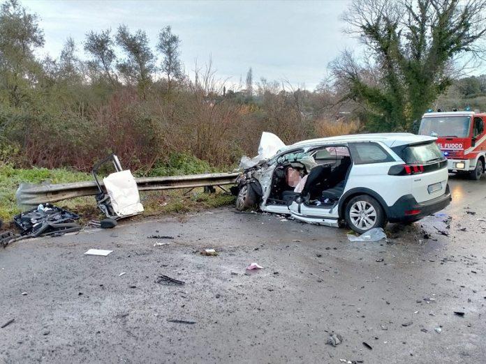 incidente stradale Cassia