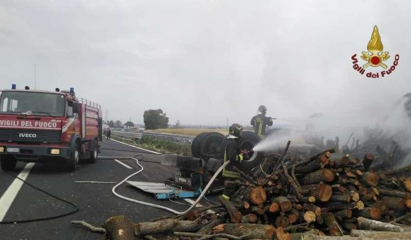 L'incidente sull'autostrada A12